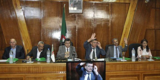 افتتاح دورة المجلس الشعبي الولائي بالمسيلة