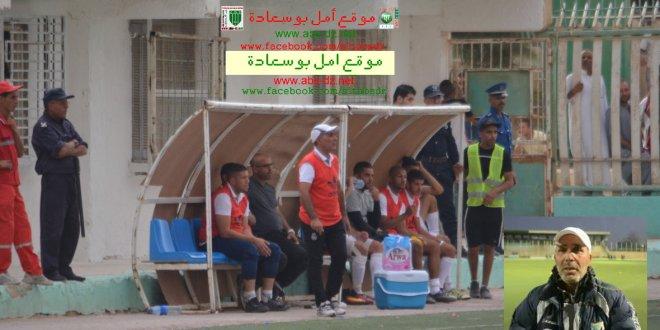 أدارة امل بوسعادة تقيل المدرب جابري من العارضة الفنية للفريق