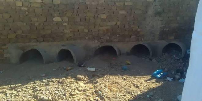 انطلاق مشروع اعادة بناء جسر واد نقيب الرابط بين حيي اول نوفمبر وحي محمد شعباني