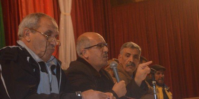 اعضاء الجمعية العامة لامل بوسعادة يوافقون على التقرير المالي والادبي وأستقالة الرئيس عزوز
