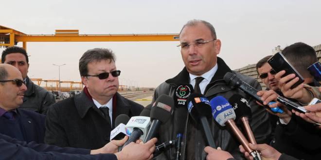 زيارة وزيرالأشغال العمومية و النقل السيد عبد الغاني زعلان لولاية المسيلة