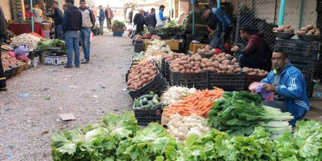 فتح سوق الخضر و الفواكه بساحة سرقين ابراهيم بمدينة بوسعادة واخرى ببقية الولاية