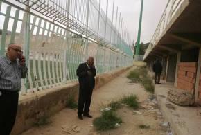 رئيس دائرة بوسعادة يشرف على انطلاق مشروع ملعب مختار عبد اللطيف