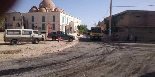 الانطلاق في تزفيت القسم الثاني من حي محمد شعباني