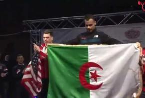 البطل الجزائري عويمر بلال يحرز اللقب العالمي بكندا