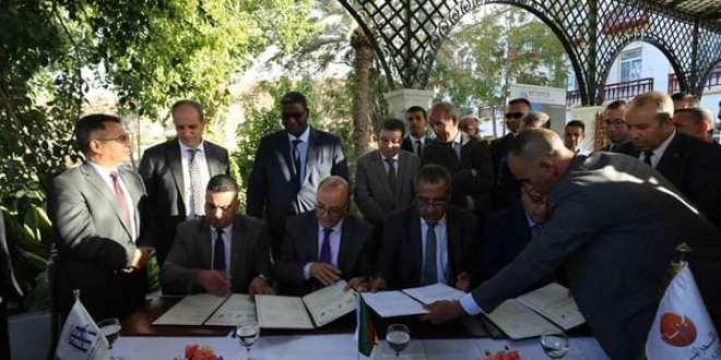 وزير السياحة والصناعة التقليدية في زيارة عمل لمدينة بوسعادة  14 أكتوبر 2018