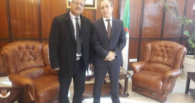 لقاء النائب البرلماني محمد بن شلالي مع وزير الصحة حول  انشغالات مواطني ولاية المسيلة
