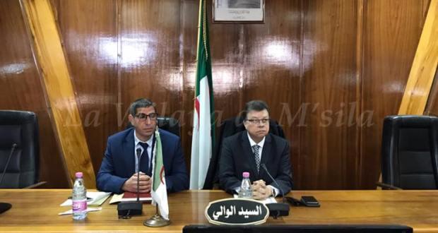 تزكية  السيد مقدر نورالدين عن جبهة التحرير الوطني رئيس جديد للمجلس الشعبي الولائي