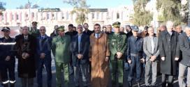السيد عبد الكريم بطيوي والي ولاية المسيلة بالنيابة يشرف على  فعاليات  احتفالات رأس السنة الأمازيغية يناير 2969