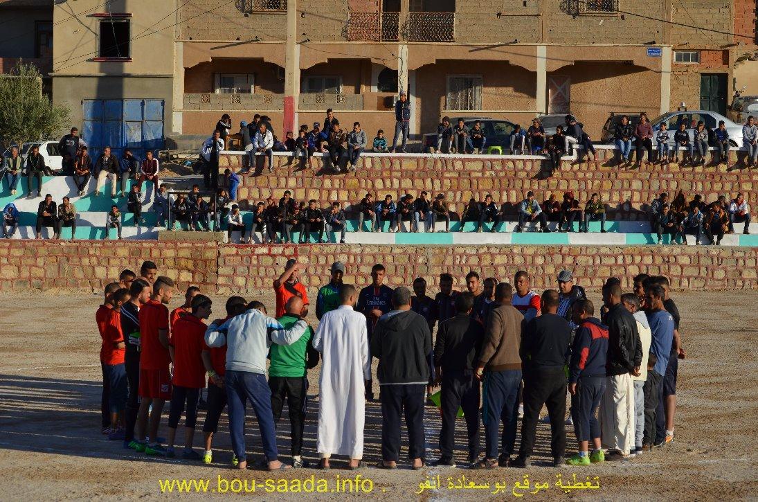 انطلاق دورة  حي أول نوفمبر ( الدشرة القبلية )  الجوارية لكرة القدم