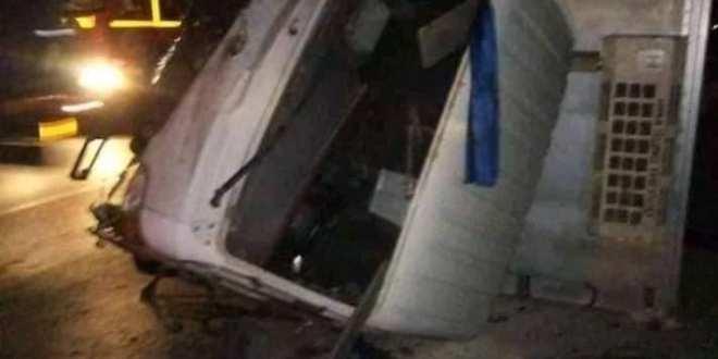 قتيل وثلاثة جرحي في حادث مروري بين بانيو والمعاريف