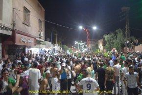 بوسعادة تحتفل بتتويج الفريق الوطنى بالكأس الافريقية الثانية . صور فيديوهات وتعاليق