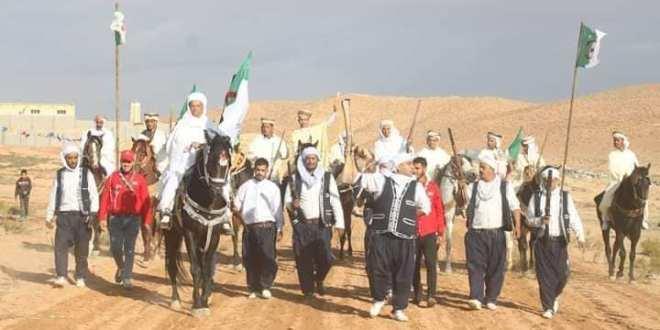 بلدية بن سرور رفقة جمعيات تنظم احتفالية تخليدا للذكرة الـ65 لاندلاع الثورة التحريرية