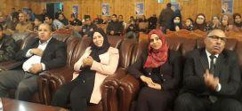 النائب بسمة عزوار ممثلة للمترشح بلعيد في رئسيات 2019 تعقد تجمع ببوسعادة
