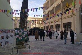 تظاهرة ثقافية بمناسبة يناير شهر وحدة شعب بثانوية أبي مزراق ببوسعادة