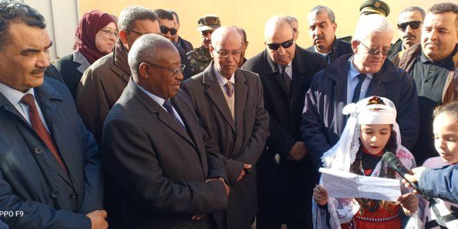 زيارة العمل والتفقد للسيد والي ولاية المسيلة إلى بلديات دائرة سيدي عامر
