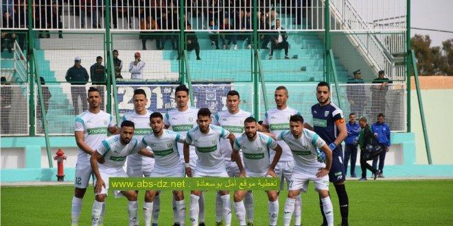 ثمن نهائي كأس الجزائر .. امل بوسعادة 1 امل الاربعاء 0 . الامل بجدارة واستحقاق في الربع النهائي