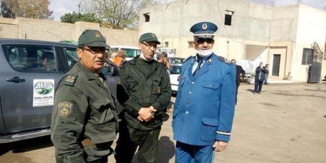 تثمين جهود الوالي ورئيس بلدية سيدي عامر وعمال البلدية والامن والفاعلين
