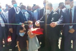 وزير الموارد يعطي إشارة مشروع إنجاز المجمع الرئيسي للتطهير و الشبكة