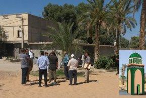 اللجنة التقنية تعاين مكان إنجاز خزان الماء الكبير بالتيرة الخضراء