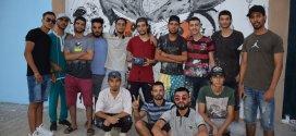 شباب حي 24 فيفري يبدعون برسوماتهم الجدارية