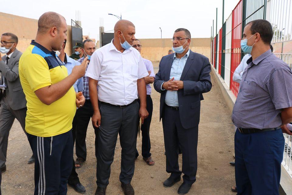 زيارة ميدانية فجائية للوقوف على مدى تقدم المشاريع التنموية ببلديات دائرة مقرة