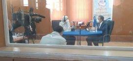لقاءالوزيرالأول السيدعبدالعزيز جراد عبرالإذاعة الجزائرية من المسيلة
