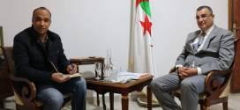 والي المسيلة  عبد القادر جلاوي في تصريح خاص لـ  الشروق اليومي