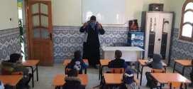 جمعية  مبادرة للتنمية الإجتماعية تزور روضة مسجد حمزة عبد المطلب ببوسعادة