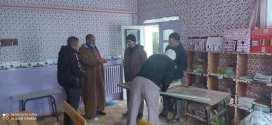 رئيس دائرة عين الملح يقف على بعض مناطق الظل ببلدية سيدي امحمد