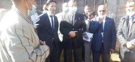 السيد الوالي في زيارة عمل وتفقد لمنطقة الظل  اولاد منصور ببلدية مقرة