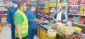 حملات دورية لامن دائرة جبل امساعد لحماية المستهلك وحفظ الصحة خلال رمضان