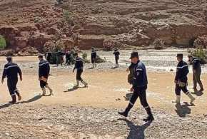 أعوان الحماية يواصلون عملية البحث بجنان الرومي للعثور على الضحية الثالثة