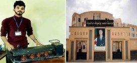 ابتكار الممهلات الطاقوية للطالب صهيب سلطاني من جامعة المسيلة