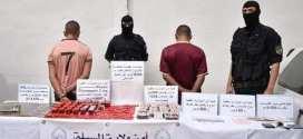 فرقة البحث والتدخل بأمن الولاية تحجز 48 صفيحة من المخدرات وكمية من المؤثرات العقلية