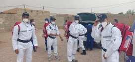 قافلة طبية خاصة بالكوفيد تزور قرية اولاد خالد