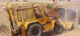 بداية عملية التنقية و التنظيف عبر بلديتي  دائرة جبل امساعد
