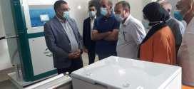 عملية تركيب وتشغيل مولد مادة الأكسجين بالمؤسسة الاستشفائية الزهراوي