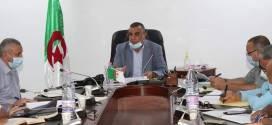 اجتماع يخص التحضيرات الجارية لليوم الوطني للتلقيح الموافق لـ 04 سبتمبر