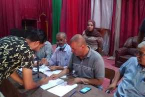 اتمام عملية المزايدة على كراء محلات ملعب مختار عبد اللطيف