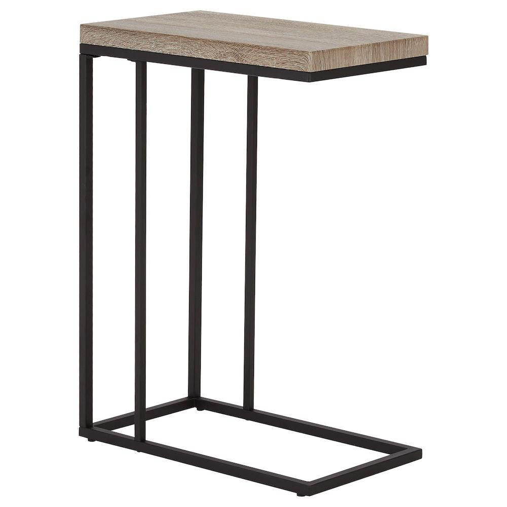 Table Dappoint En Bois Plaqu Et En Mtal