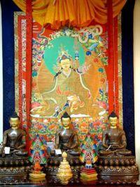 Temple consacré à bouddha
