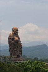 Magnifique bouddha rieur géant