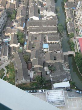 Une vue d'un canal de Suzhou ... ville aussi appelée la venise chinoise ... pas très loin de Shanghai ...