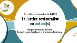 Colloque Justice Restaurative (Unesco, 18-19 janvier 2017)