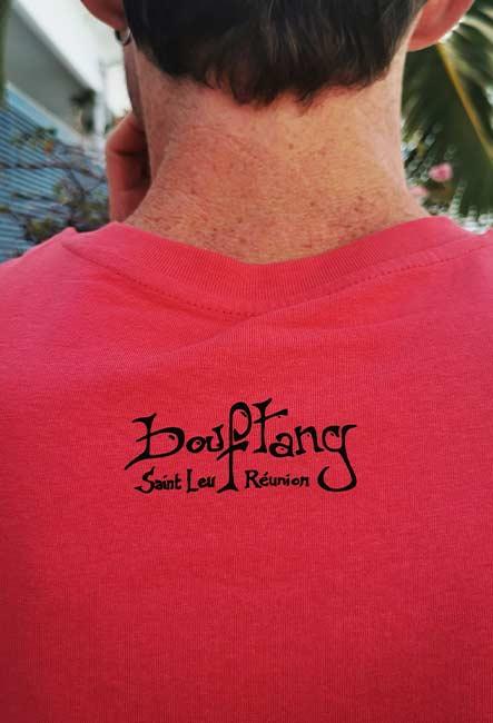Nid de Bélier - Tee-shirt - Sérigraphie artisanale - Saint-Leu île de la Réunion - Coton 100% Biologique - Équitable - Dessin by Bouftang