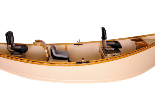 white ash gunnels and Standard Drift Boat Seats