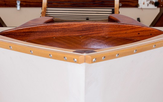 African Mahogany Fly Deck