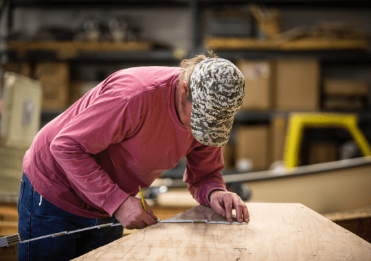 Andy Toohey Measuring Skiff Boat Template