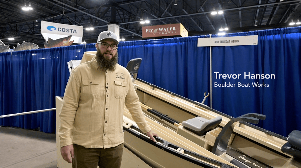 Boulder Boat Works Skiff At IFTD